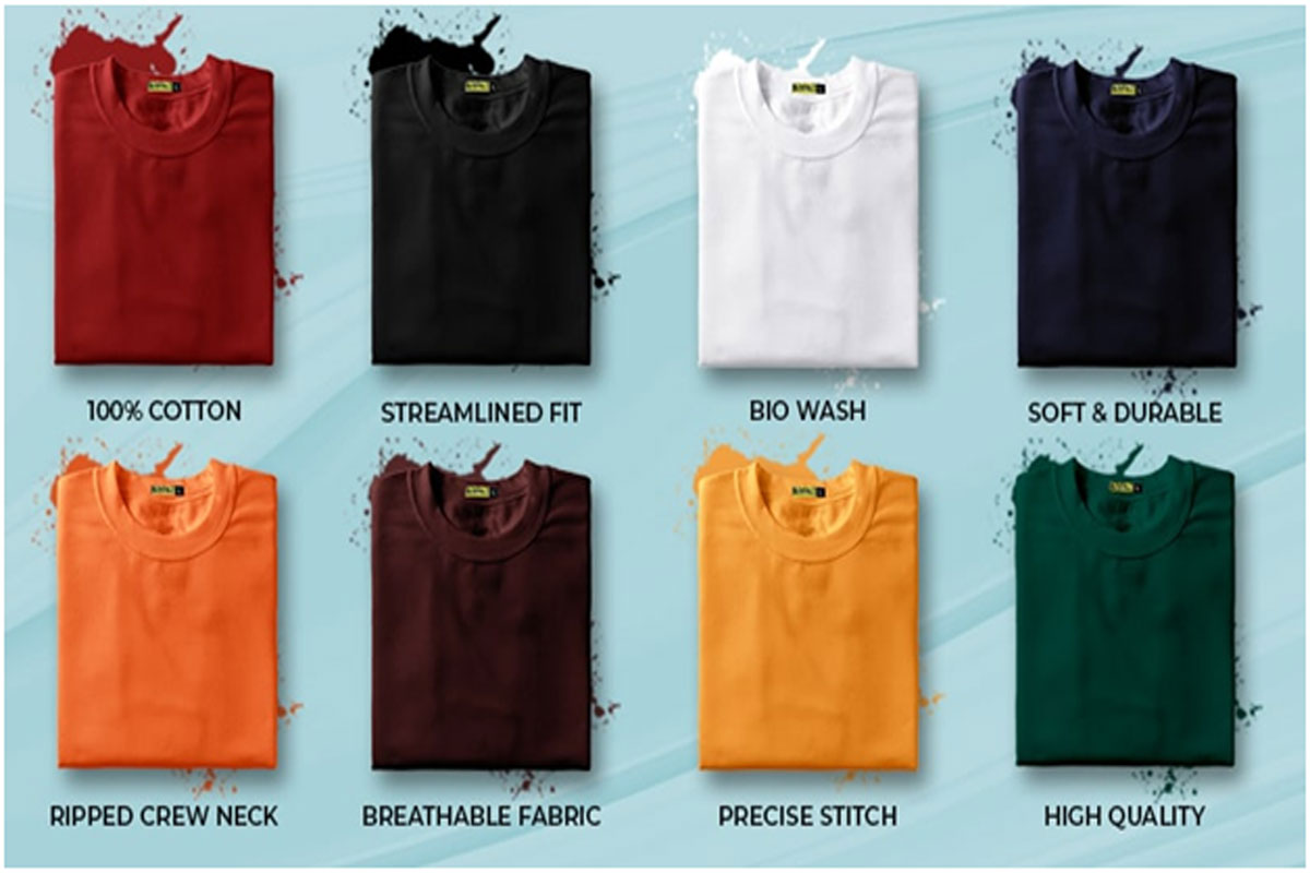 What Makes Men's Plain T-Shirts Best Thing to Have in Your Collection?